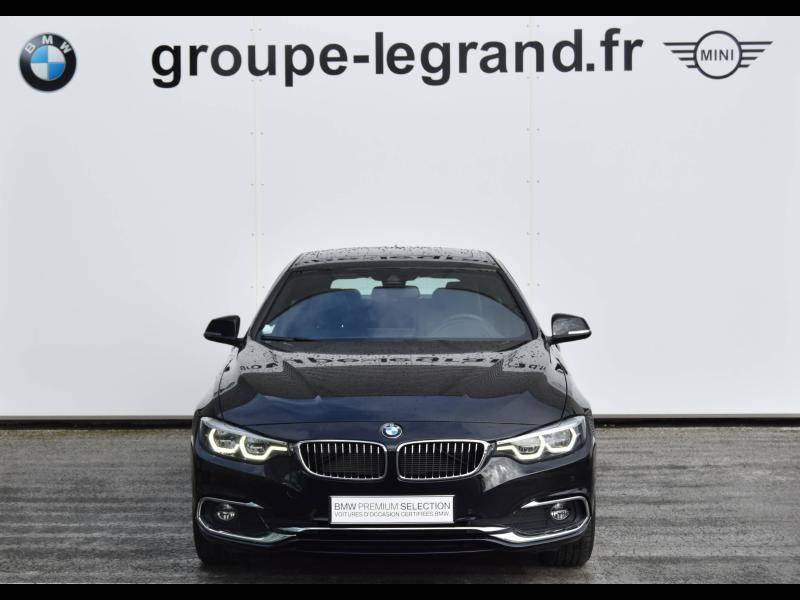 Bmw 420 420dA 190ch Luxury Euro6d-T Noir occasion à Le Mans - photo n°6