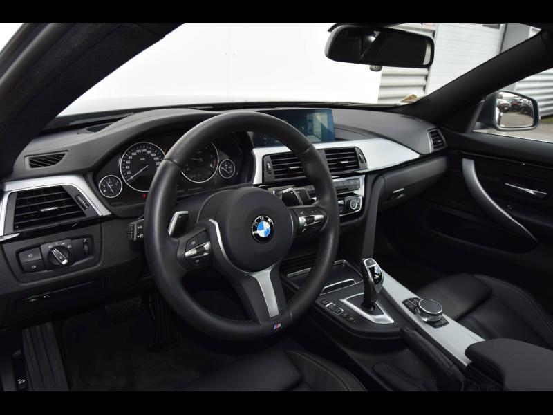 Bmw 420 420dA 190ch Luxury Euro6d-T Noir occasion à Le Mans - photo n°4