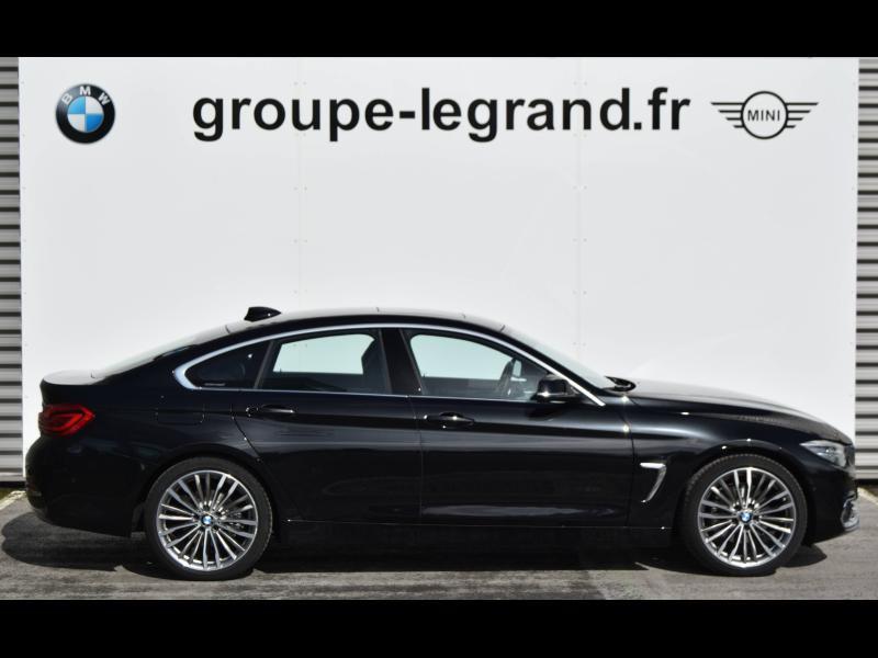 Bmw 420 420dA 190ch Luxury Euro6d-T Noir occasion à Le Mans - photo n°2