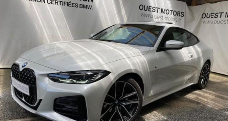 Bmw 420 420dA 190ch M Sport Blanc occasion à BREST