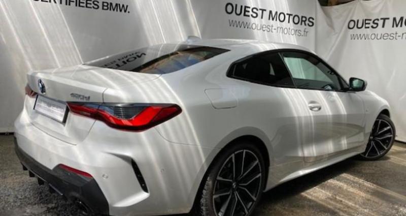 Bmw 420 420dA 190ch M Sport Blanc occasion à BREST - photo n°2