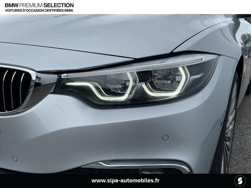 Bmw 420 420dA xDrive 190ch Luxury Euro6d-T  occasion à Montauban - photo n°10