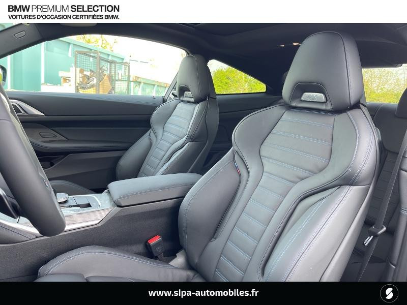 Bmw 420 420dA xDrive 190ch M Sport Euro6d-T Noir occasion à Montauban - photo n°9