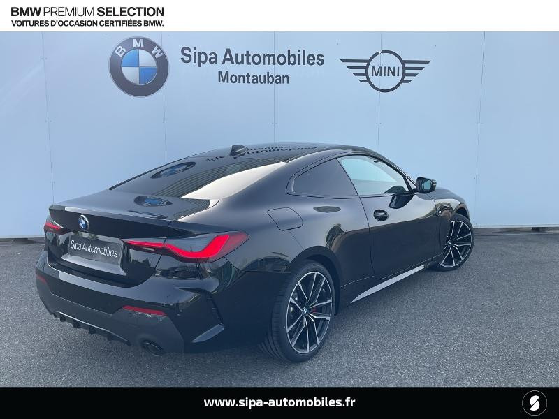 Bmw 420 420dA xDrive 190ch M Sport Euro6d-T Noir occasion à Montauban - photo n°3