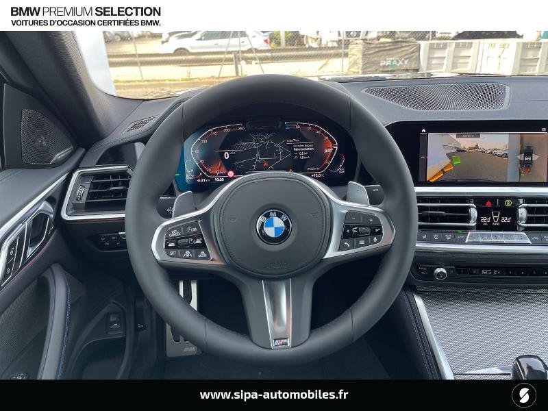 Bmw 420 420dA xDrive 190ch M Sport Euro6d-T Noir occasion à Montauban - photo n°6