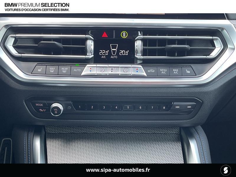 Bmw 420 420dA xDrive 190ch M Sport Euro6d-T Noir occasion à Montauban - photo n°16