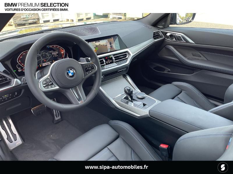 Bmw 420 420dA xDrive 190ch M Sport Euro6d-T Noir occasion à Montauban - photo n°4