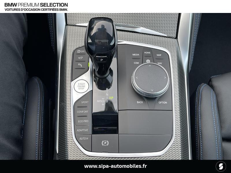 Bmw 420 420dA xDrive 190ch M Sport Euro6d-T Noir occasion à Montauban - photo n°12