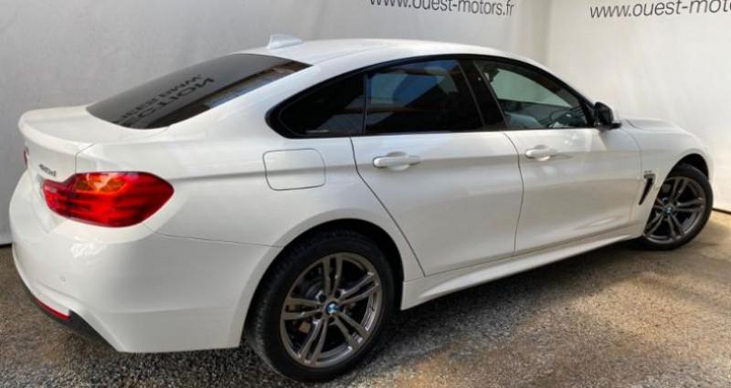 Bmw 420 420dA xDrive 190ch M Sport Blanc occasion à BREST - photo n°2