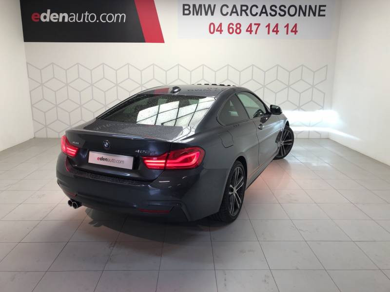 Bmw 420 COUPE F32 Coupé 420d xDrive 190 ch M Sport A Gris occasion à Carcassonne - photo n°2