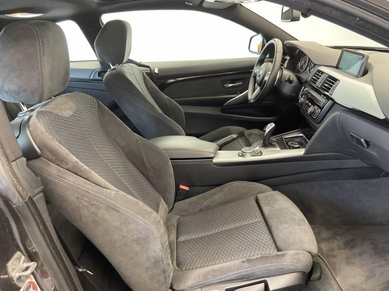 Bmw 420 COUPE F32 Coupé 420d xDrive 190 ch M Sport A Gris occasion à Limoges - photo n°9