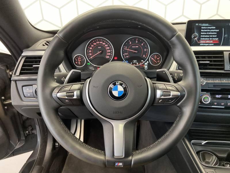 Bmw 420 COUPE F32 Coupé 420d xDrive 190 ch M Sport A Gris occasion à Limoges - photo n°5