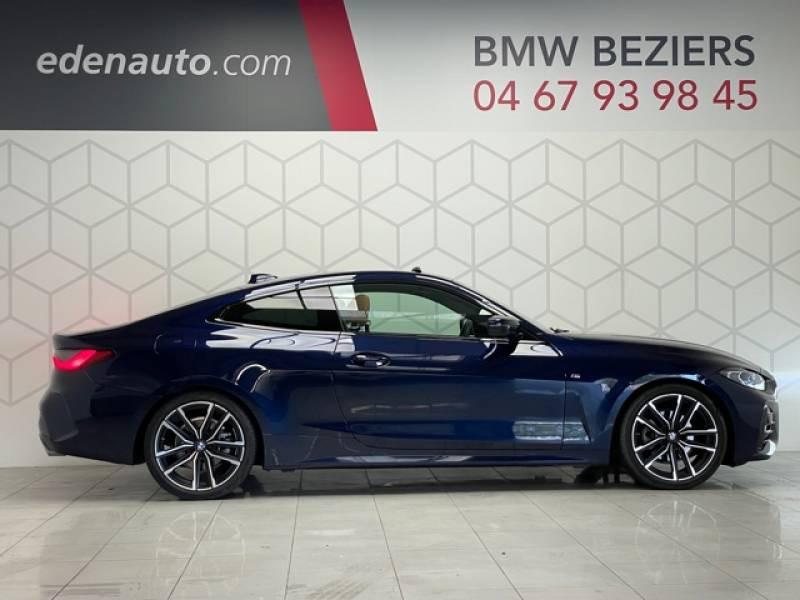 Bmw 420 COUPE G22 Coupé 420d 190 ch BVA8 M Sport  occasion à Béziers - photo n°3