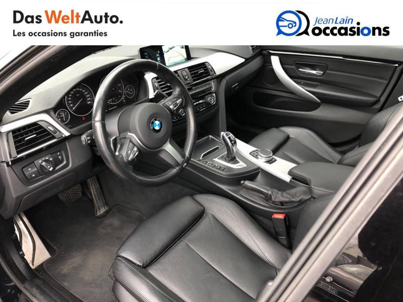 Bmw 420 Gran Coupé 420d xDrive 190 ch M Sport A 4p Noir occasion à Annemasse - photo n°11