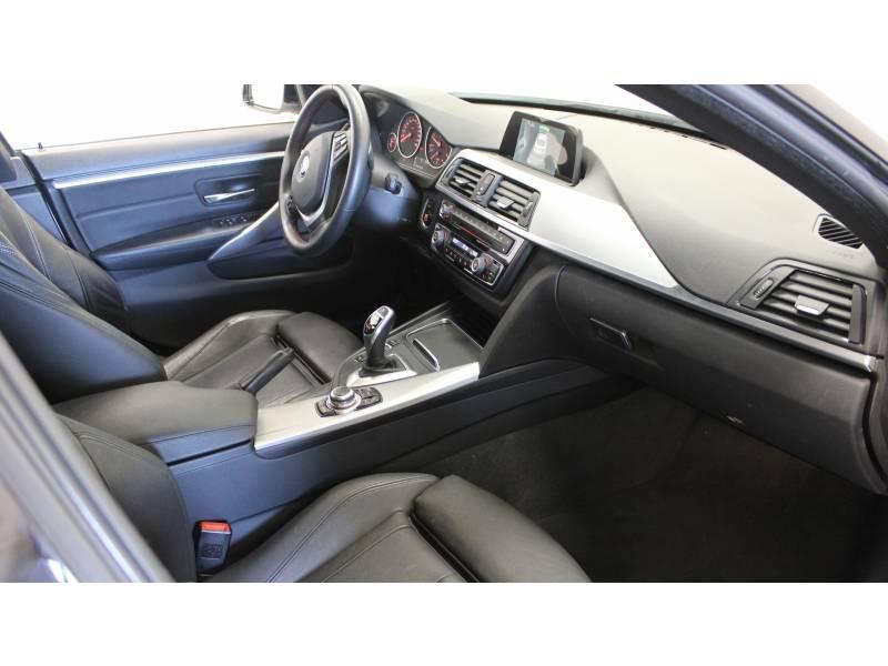Bmw 420 GRAN COUPE F36 Coupé 420d xDrive 190 ch Sport A Blanc occasion à Tarbes - photo n°9