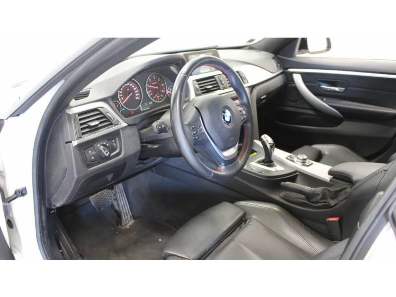 Bmw 420 GRAN COUPE F36 Coupé 420d xDrive 190 ch Sport A Blanc occasion à Tarbes - photo n°4