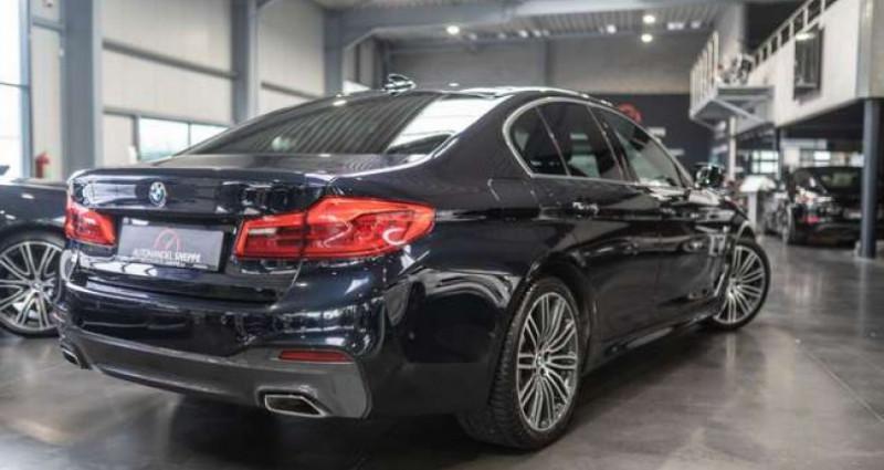 Bmw 520 520 Limousine DIESEL - 2017 - M-Sportpakket Noir occasion à Maldegem - photo n°4