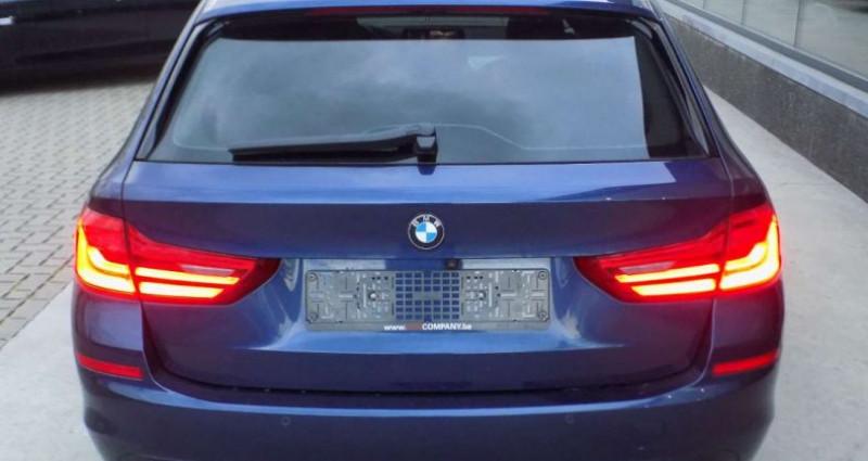 Bmw 520 520 TOURING 190PK - LEDER - GPS - CAMERA - PANODAK - DIG.DAS Bleu occasion à Hooglede - photo n°4