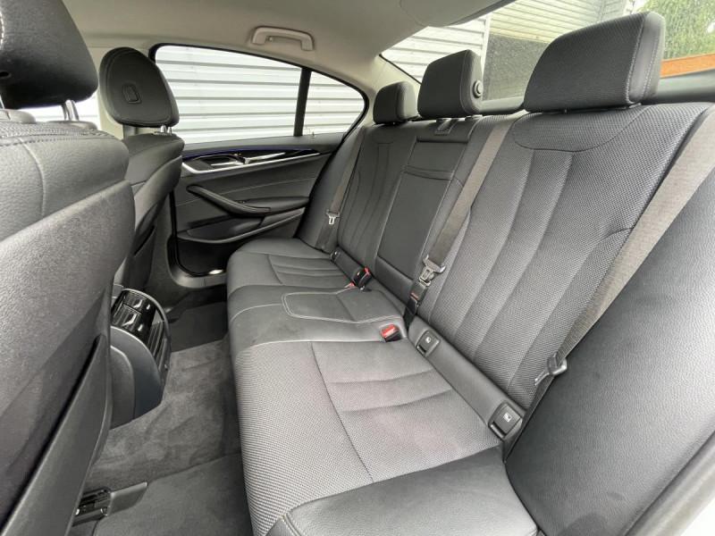 Bmw 520 520d 190 ch BVA8 Lounge + Options Blanc occasion à Lormont - photo n°8