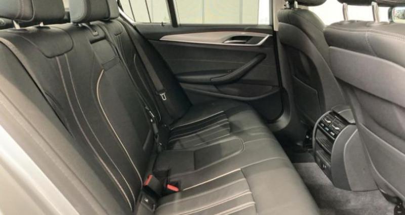 Bmw 520 520dA xDrive 190ch Luxury Euro6c Argent occasion à Mantes La Jolie - photo n°6