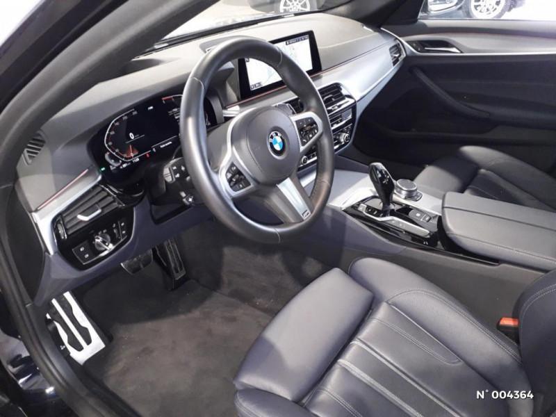 Bmw 520 BMW SERIE 5 (G31) (2) TOURING 520D 190 M SPORT BVA8 Noir occasion à Rivery - photo n°6