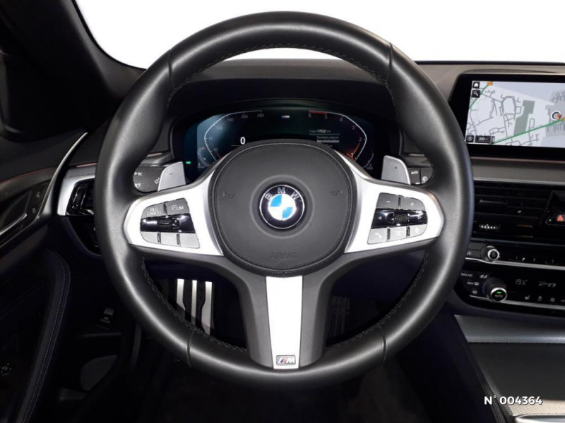 Bmw 520 BMW SERIE 5 (G31) (2) TOURING 520D 190 M SPORT BVA8 Noir occasion à Rivery - photo n°3