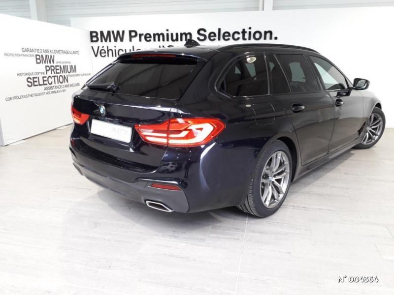 Bmw 520 BMW SERIE 5 (G31) (2) TOURING 520D 190 M SPORT BVA8 Noir occasion à Rivery - photo n°8