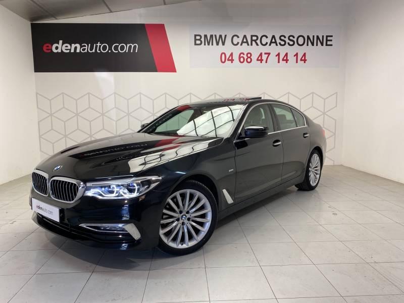 Bmw 520 G30 520d xDrive 190 ch BVA8 Luxury Noir occasion à Carcassonne