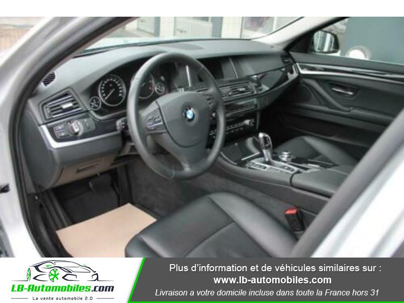 Bmw 525 525d 218ch F11 / xDrive Gris occasion à Beaupuy - photo n°4