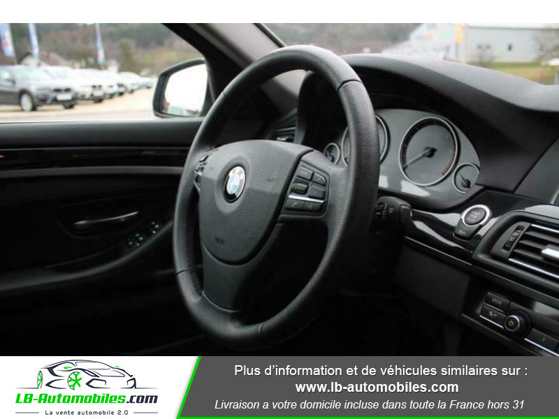 Bmw 525 525d 218ch F11 / xDrive Gris occasion à Beaupuy - photo n°9