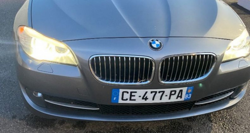 Bmw 525 SERIE F11 525d xDrive 218ch 150g Luxe A Gris occasion à GASSIN - photo n°3