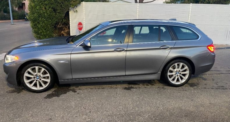 Bmw 525 SERIE F11 525d xDrive 218ch 150g Luxe A Gris occasion à GASSIN - photo n°4