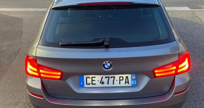 Bmw 525 SERIE F11 525d xDrive 218ch 150g Luxe A Gris occasion à GASSIN - photo n°5