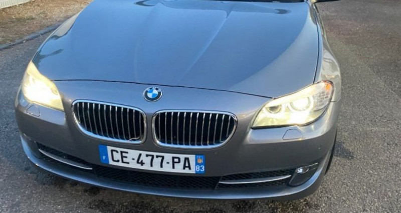 Bmw 525 SERIE F11 525d xDrive 218ch 150g Luxe A Gris occasion à GASSIN