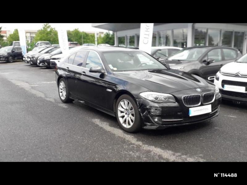 Bmw 530 530dA xDrive 258ch Confort Noir occasion à Montévrain - photo n°16