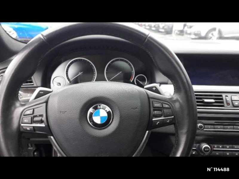Bmw 530 530dA xDrive 258ch Confort Noir occasion à Montévrain - photo n°14