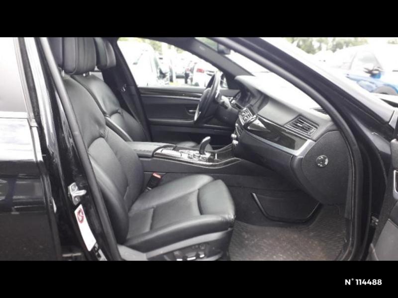 Bmw 530 530dA xDrive 258ch Confort Noir occasion à Montévrain - photo n°7