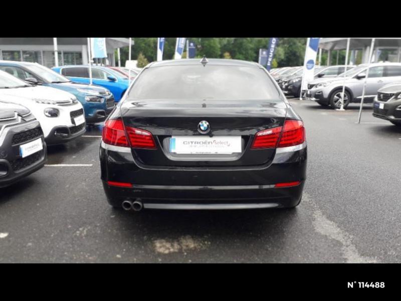 Bmw 530 530dA xDrive 258ch Confort Noir occasion à Montévrain - photo n°6