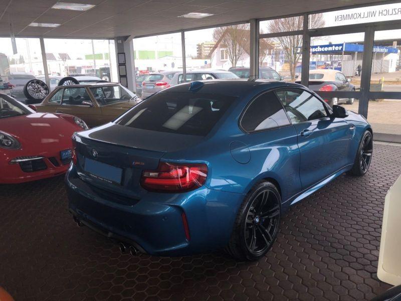 Bmw M2 Coupé 370 Bleu occasion à Beaupuy - photo n°3