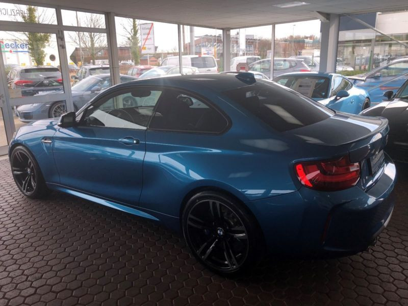 Bmw M2 Coupé 370 Bleu occasion à Beaupuy - photo n°8