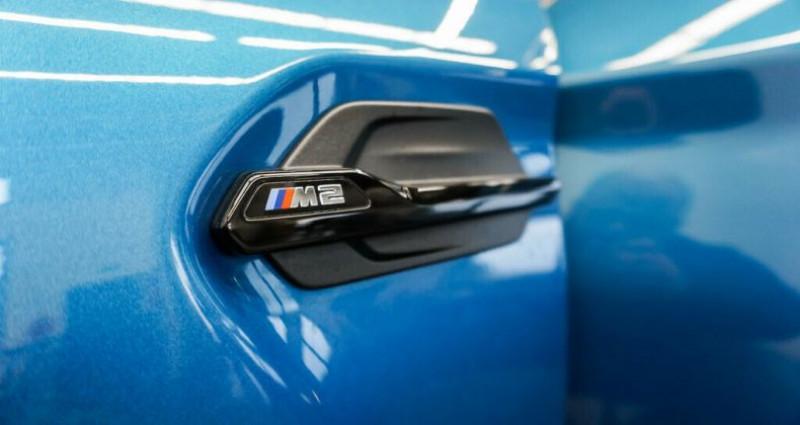 Bmw M2 Coupe I (F87) 370ch M DKG Bleu occasion à Boulogne-Billancourt - photo n°4