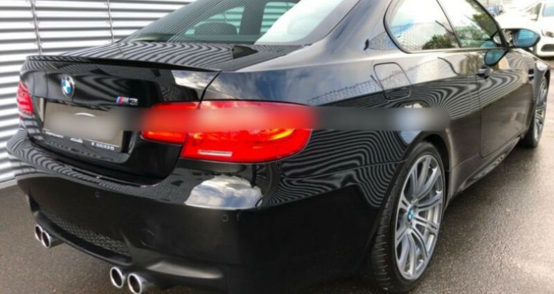 Bmw M3 Coupe V (E92M) 420ch DKG Drivelogic Noir occasion à Boulogne-Billancourt - photo n°3