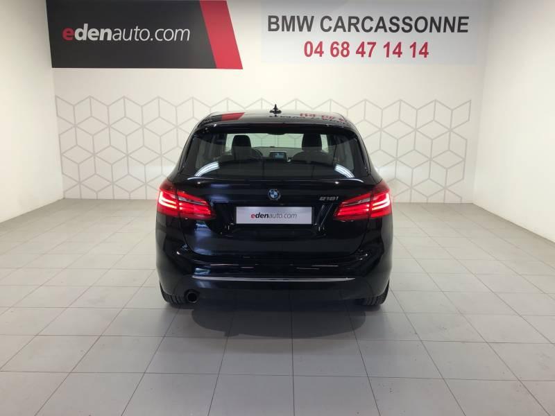 Bmw Serie 2 Active Tourer F45 218i 136 ch Luxury A Noir occasion à Carcassonne - photo n°18