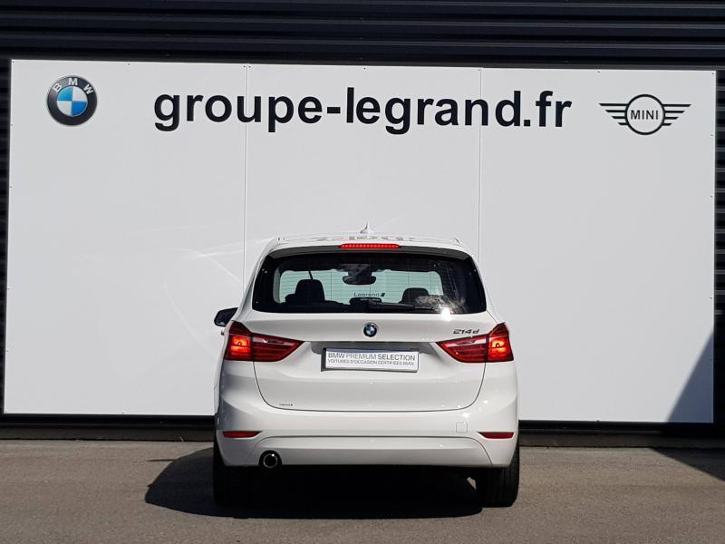Bmw Serie 2 Gran Tourer 214d 95ch Premiere Blanc occasion à Valframbert - photo n°5