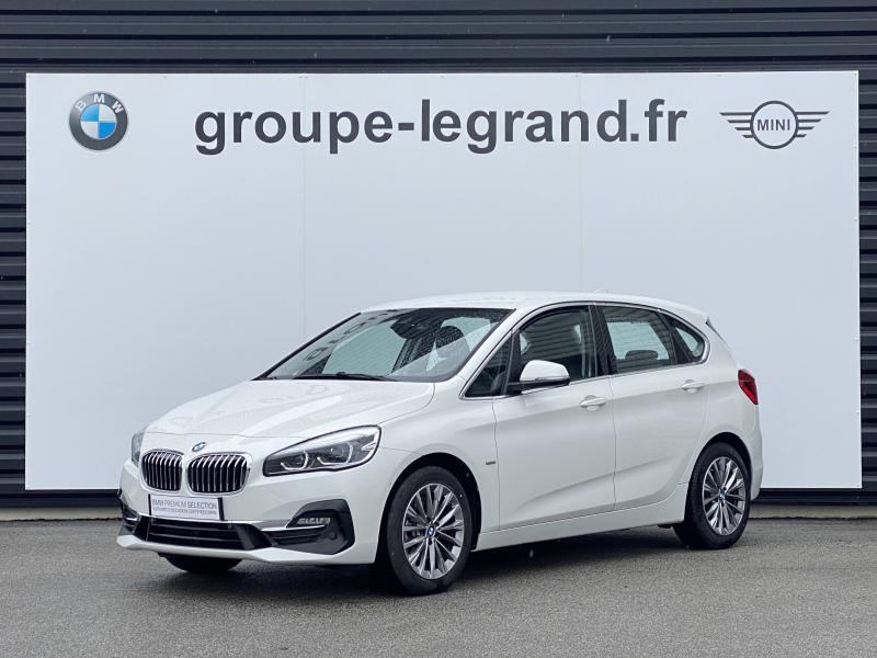 Bmw Serie 2 218d 150ch Luxury Blanc occasion à Valframbert