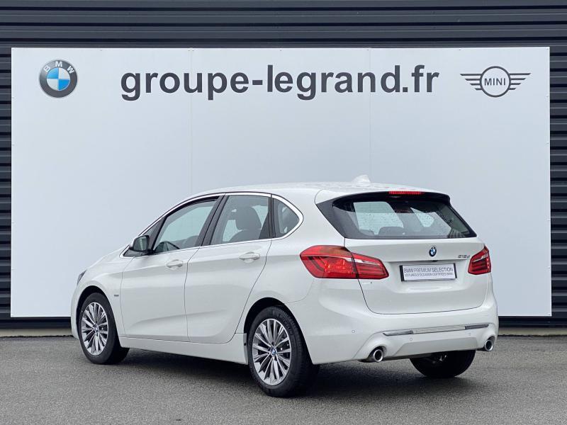 Bmw Serie 2 218d 150ch Luxury Blanc occasion à Valframbert - photo n°3