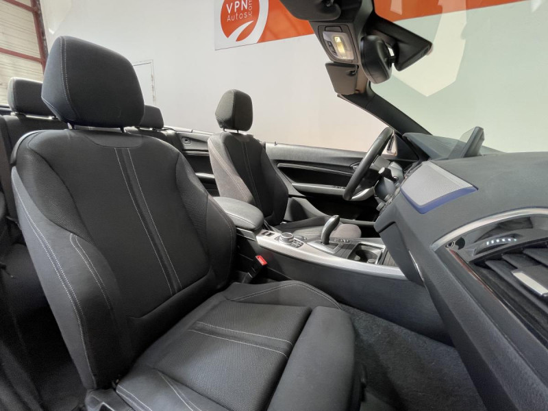Bmw Serie 2 218da Cabriolet 150 CH BVA  F23 M Sport + Options Blanc occasion à Lormont - photo n°15
