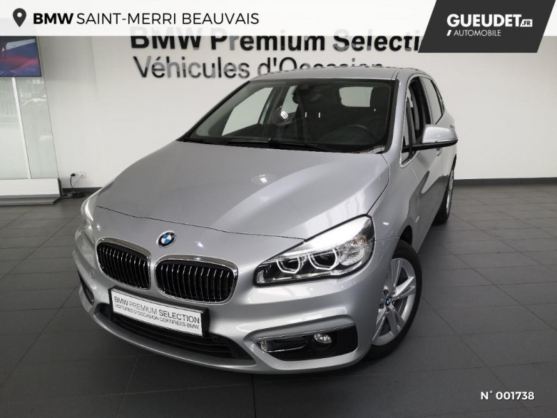 Bmw Serie 2 218iA 136ch Luxury Gris occasion à Beauvais