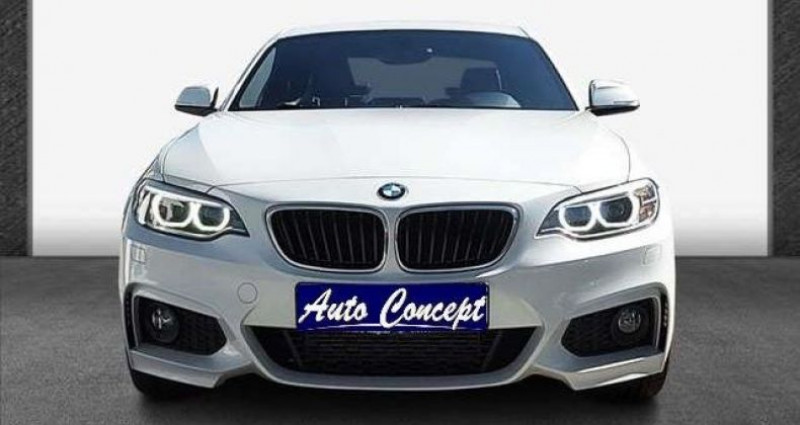 Bmw Serie 2 Coupe I (F22) 218i 136ch M Sport Blanc occasion à LANESTER - photo n°2