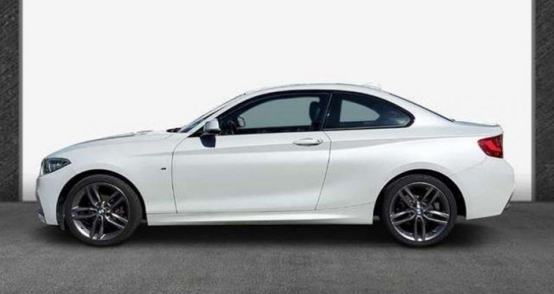 Bmw Serie 2 Coupe I (F22) 218i 136ch M Sport Blanc occasion à LANESTER - photo n°3